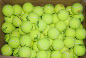 Used Tennis Balls (standard hard court - box of 500)